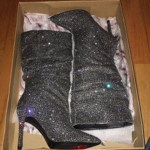 "✨NWT &Box✨ Jessica Simpson Glitter Gabor 4"" Heels"